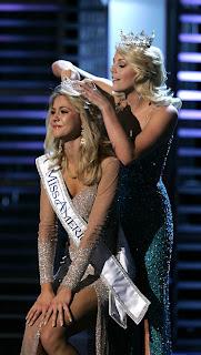 Miss America 2008 Kirsten Haglund Miss Michigan