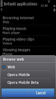Nokia new Ovi browser