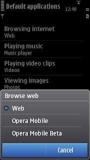 Nokia new Ovi browser