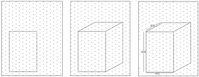 Isometric Dot Paper Drawings Three Dimensional Draw...