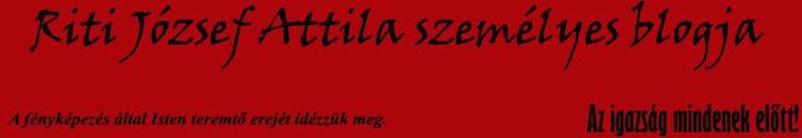 Riti József Attila személyes blogja