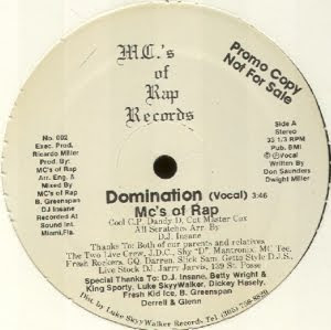 MC's Of Rap - Domination