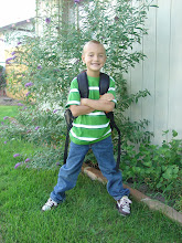 The first day of 1st Grade.