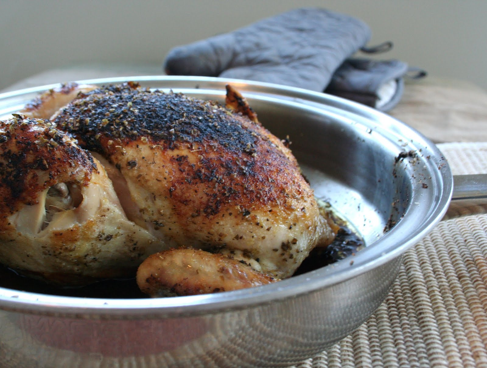 Meal Planning 101: Simple Lemon Oregano Roasted Chicken