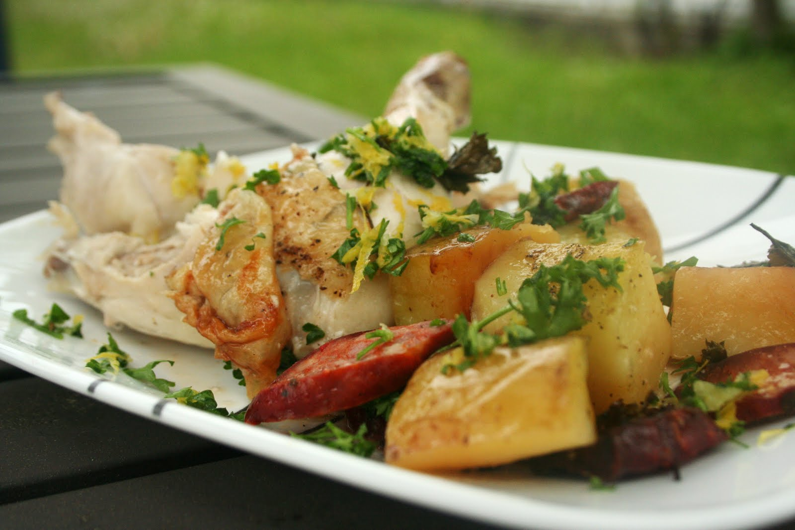 Meal Planning 101: Cookbook Review Recipe - Spanish Roast Chicken