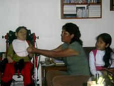 Daniela con su PRIMERA  AMIGA antes que nazca quien le hizo ESTIMULACION PRE-NATAL