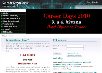 Career Days - Veletrh pracovních příležitostí