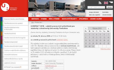 Kontakt 2010 - Veletrh pracovních příležitostí