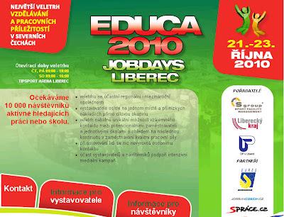 Educa 2010 - Veletrh vzdělávání a pracovních příležitostí v severních Čechách