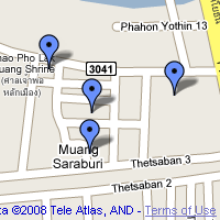 Google Maps thumbnail of my Saraburi map