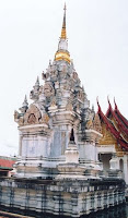 Chedi of Wat Phra Borom That Chaiya