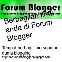 Forum, Blogger, diskusi, ilmu, berbagi, blogging, sharing, ide, inspirasi