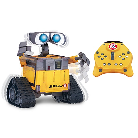 Toys: U-Command WALL E