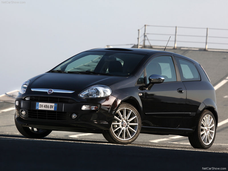 Fiat Punto Evo X Wallpaper