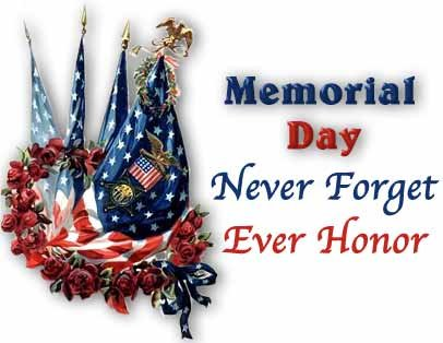 remember memorial day