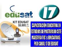 TELEVISIÓN EDUCATIVA EDUSAT 17