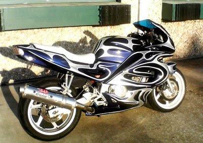 Modification Honda CBR 600