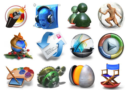 descargar iconos en 3d para windows 7