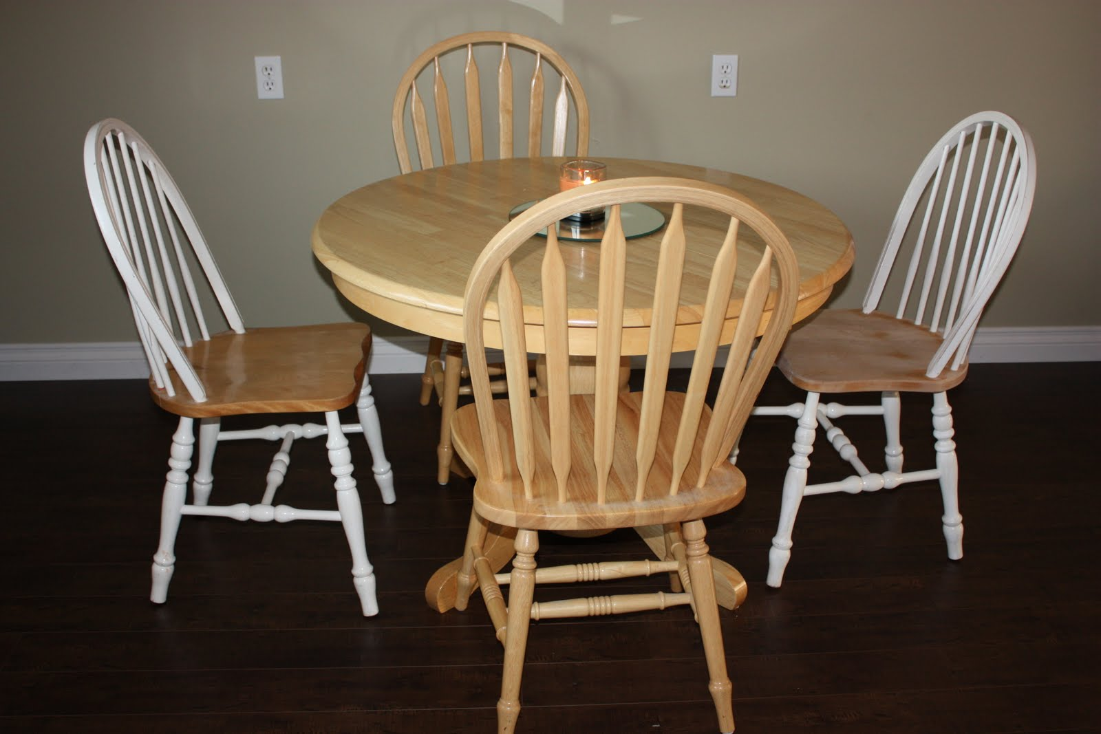 Life and home renos kitchen table redo - Kitchen table redo ...