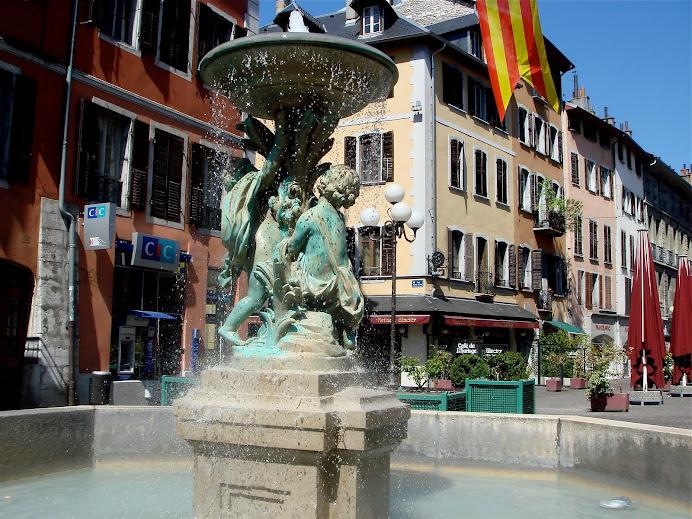 Fontaine à Chambéry