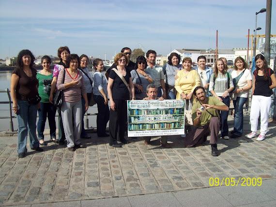 Grupo de Bibliotecas visita La Boca, Bs As.