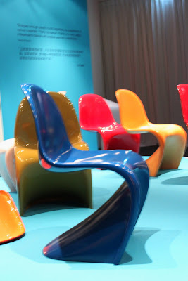 Blue Panton Chair