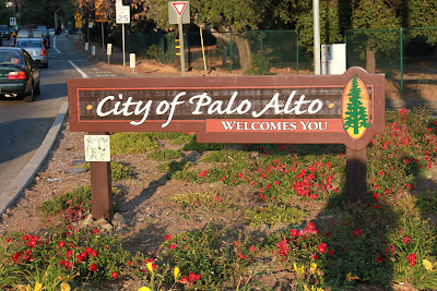 Palo Alto City Sign