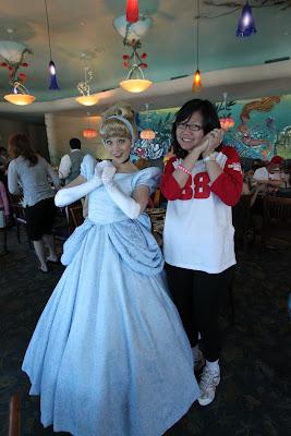 Cinderella posing