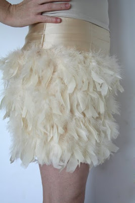 mad for fashion online store feather skirt