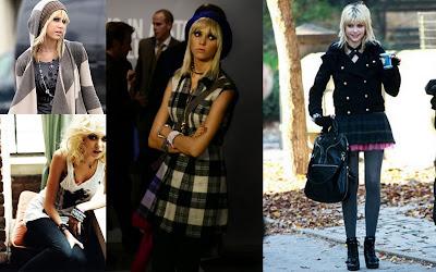 Jenny Humphrey, Taylor Momsen, gossip girl, fashion style