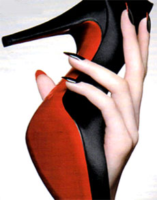 louboutin,nails