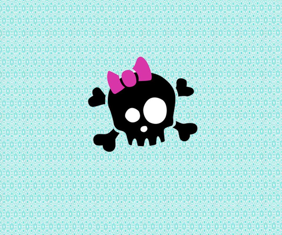 cute skull wallpaper HD  downloadwallpaperorg