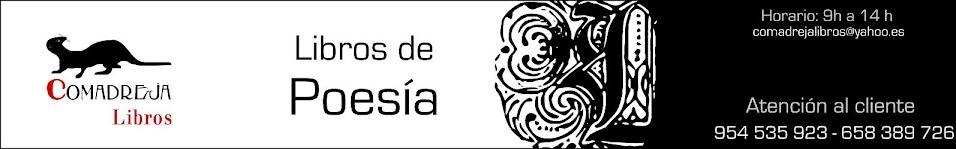 LIBROS DE POESÍA. Comadreja Libros.