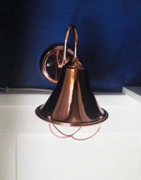 rewiring a copper wall sconce out with the old and in with the new rh prettyhandygirl com DIY Wall Lamp DIY Wall Lamp