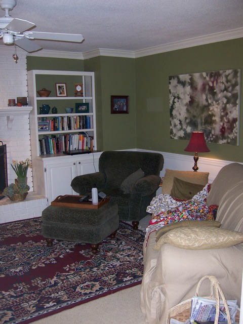 Lighten up 5 ways to bring light into a dark room pretty handy girl for How to brighten up a dark living room