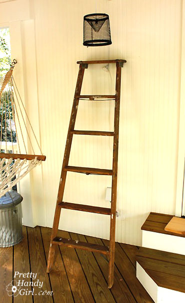 Ladder Display Shelves