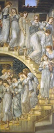 The Golden Stairs- Sir Edward Coley Burne-Jones