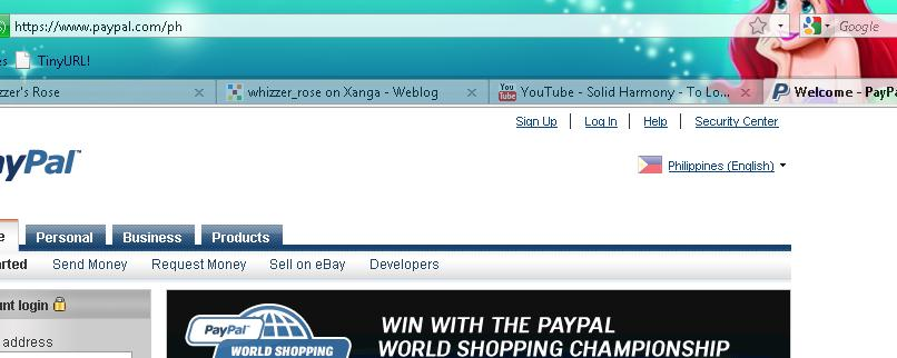 how to change your paypal link