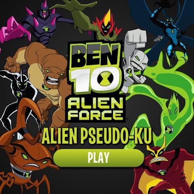 BEN 10 ALIEN FORCE – PSEUDO-KU