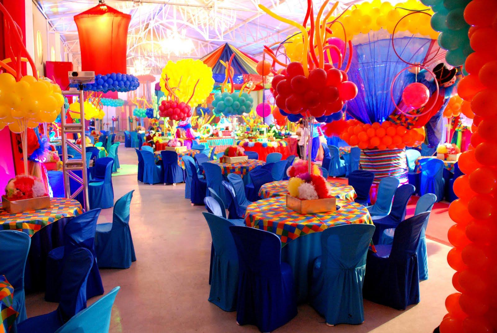 Bagatelle Festa Infantil CIRCO