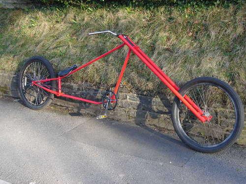 Кастом из велосипеда своими руками