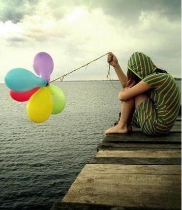 foto chica sola: