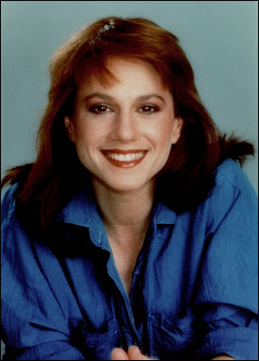 Early shot of Holly Hunter, probably for Broadcast News. I think she