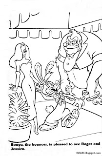 roger rabbit characters coloring pages - photo#24
