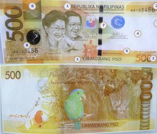 Philippines 500 Pesos