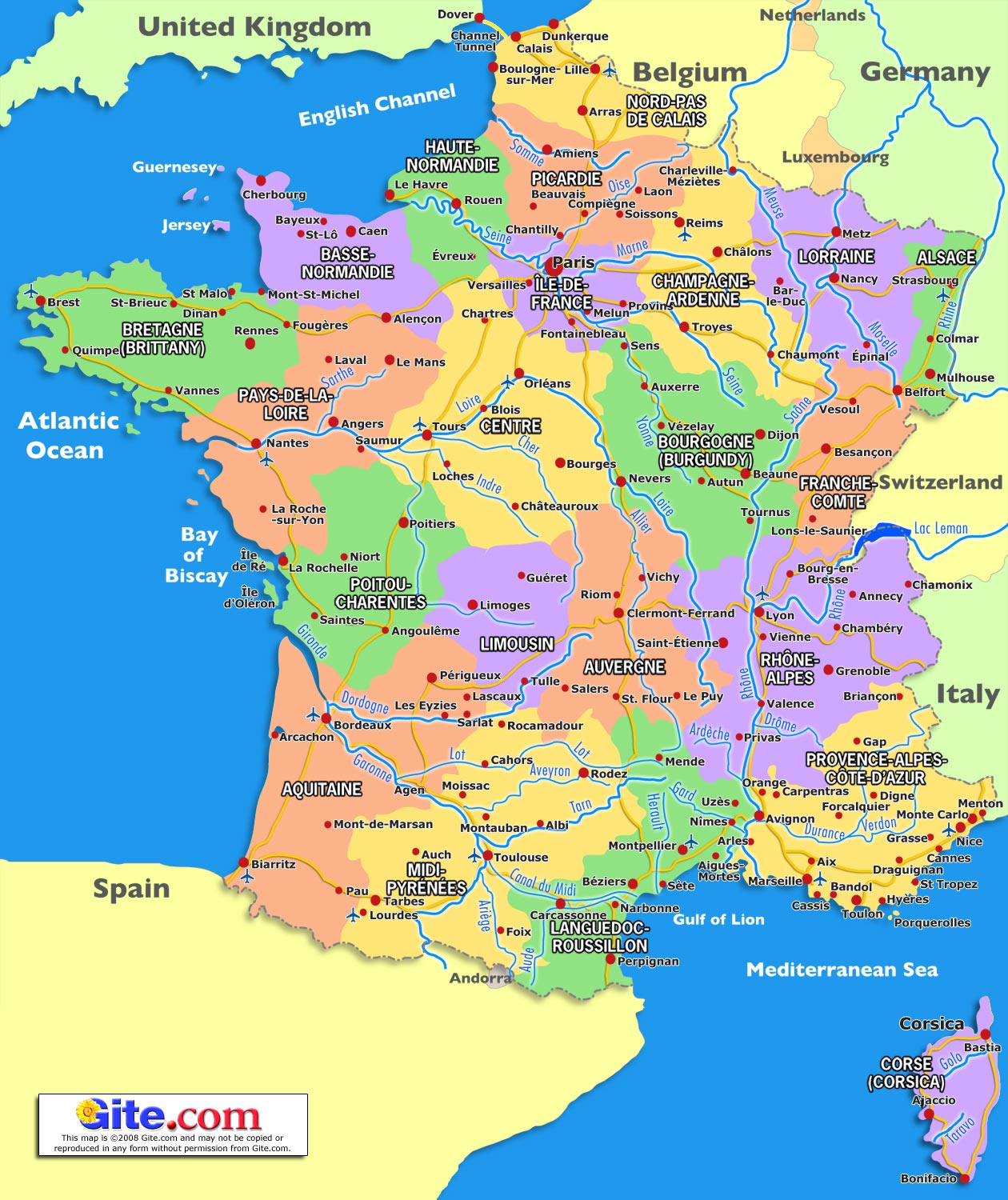 Map Of France | HD Walls | Find Wallpapers