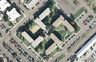 nazi symbol from google earth