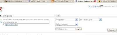 cara mengetahui keyword yang paling banyak di cari di google