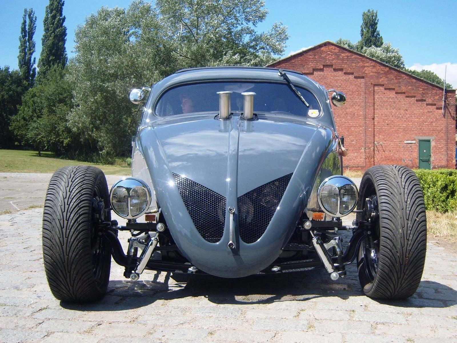 jurgens type34\'s: woaaw a\' 54 beetle hot rod V8