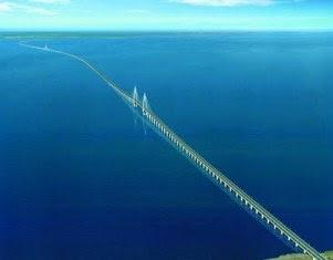 Hangzhou Bay Bridge | jembatan terpanjang